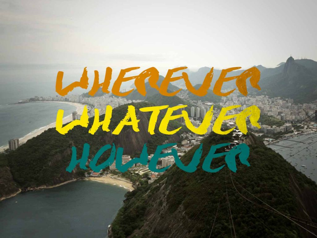 Wherever Whatever However Film